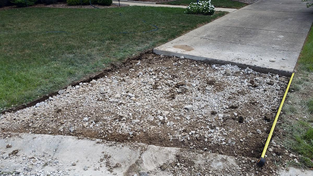 Home Improvement Concrete Driveway Repairs New Albany