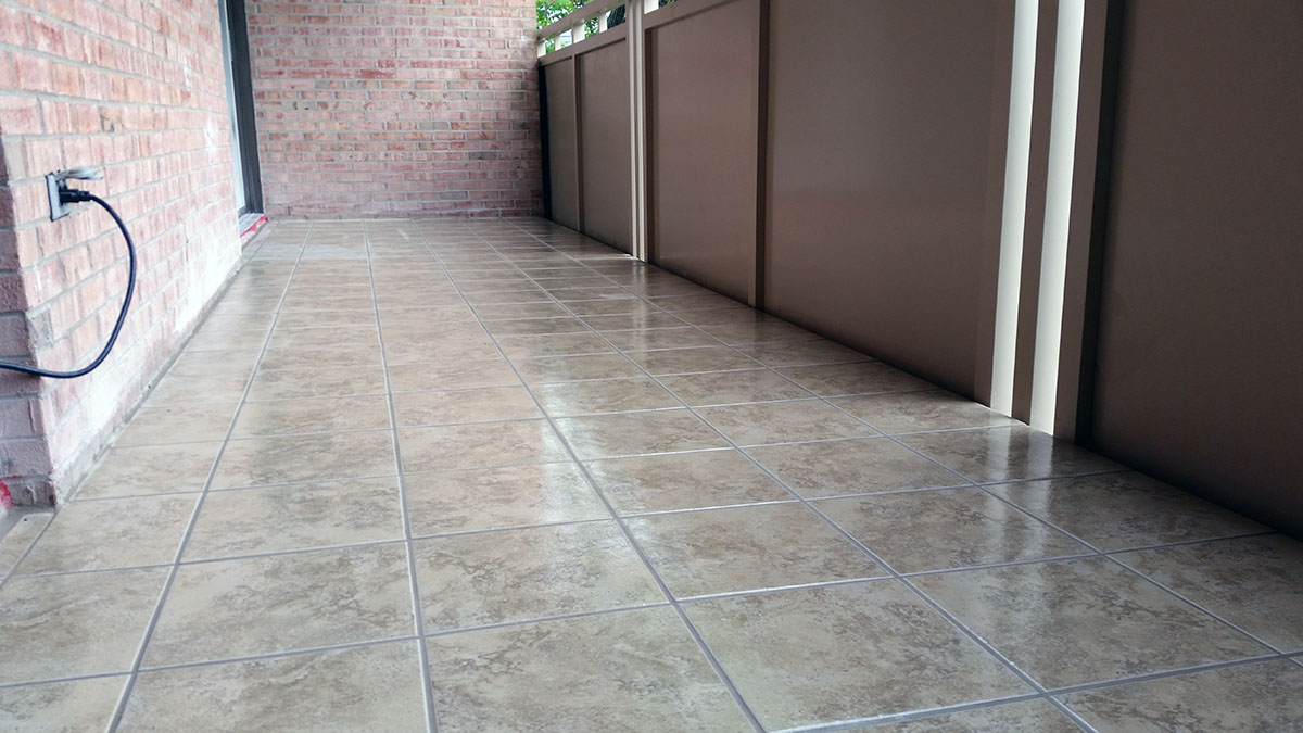 Home Improvement Tiled Balcony Flooring Highlands Louisville Ky